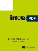Manual Duna Tab-8004Z v1.0
