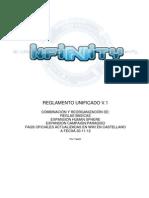 Reglamento Infinity Unificado Con FAQs V1