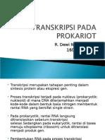 Transkripsi Pada Prokariot