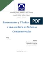 Auditori A de sistemas de informacion
