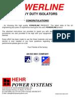 Heavy Duty Insulator Alternator