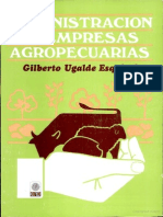Manual  para  la administración  de  empresas  agropecuarias