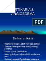 Urtikaria Dan Angiodema