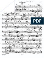 Cello part, beethoven duo n3