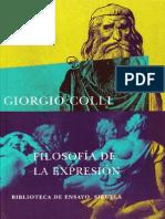 Filosofía de La Expresión Colli-procesado