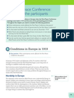 Chapter 1 the Paris Peace Conference
