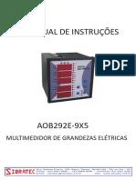 Aob292e-9x5 Multimedidor de Grandezas
