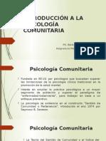 Clase 1 - Introducción a La Psicología Comunitaria