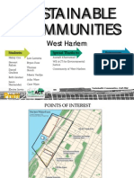 Pratt Institute W.Harlem Sustainability Research