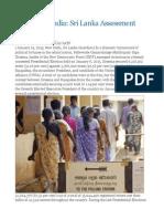 View From India Sri Lanka Assessment 2015
