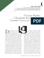 Vieira, o Corpo Popular, A Chanchada Revisitada, Ou a Comedia Carioca Por Excelencia