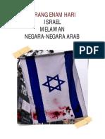 Israel Hancurkan Negara-Negara Arab Dalam Perang 6 Hari