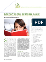 Literacy in the Learning Cycle