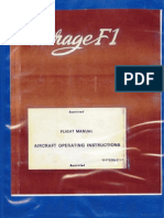 Mirage f1 Flight Manual