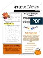 FS Newsletter - September 2014