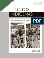 Asuntos Indigenas Area Urbana