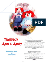 Debi Birkin - Raggedy Ann and Andy