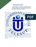 Sistemas en Perú