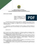 Resolução Do Mestrado em Direito UFPB