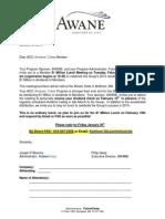 Member Luncheon Mtg Notice - Feb. 10, 2015