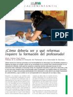 CEAPA_REVISTA102_CICLO 0-6 AÑOS_REFORMAS EN LA FORMACION DEL PROFESORADO