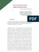 ÉTICA - ARTIGO - Biologia social das emoções - MARIA DA CONCEIÇAO ALMEIDA
