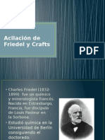 Acilación de Friedel y Crafts