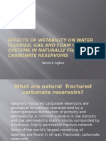 Physico u2013Chemical Alterations of Naturally Fractured Carbonate