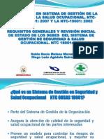 Requisitos de La NTC-OHSAS 18001 vs 2007
