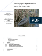YERII 2014 - Courtenay River Estuary Great Blue Heron Report 2014