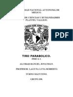 TIRO PARABOLICO