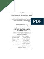Supreme Court Petition North Carolina Marriage Case