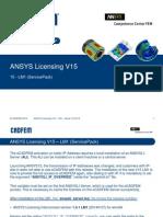 Ansys Licensing v15 Lm1 Ppt En