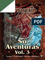 Tormenta RPG - Só Aventuras Vol.3