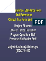 510(k) Format Guidance, Including Standards Form, and Extensions Clinical Trial Form and 510(k).pdf