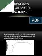 Crecimiento Poblacional de Bacterias