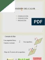 Tranferencia de Calor Por Conduccion, Conveccion y Radiacion
