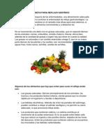 Dieta Para Reflujo Gástrico