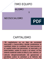Capitalismo y Neosocialismo
