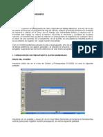 CAP I - Creacion de Ppto, Partidas, Recursos