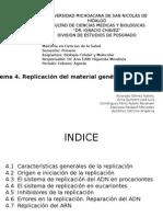 4 Replicacion Del Material Genetico