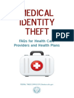 Medical Identity Theft Guide