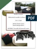 Muebles Reciclados Con Llantas
