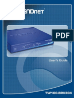 Manual Ug Tw100-Brv304(v3.0r)