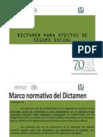 Presentacion dictamen 2013