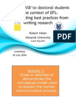 Teaching AW to Doctoral Students in EFL