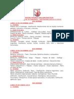 Programacion de Actividades Histologia -2015-0