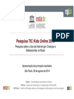 TIC Kids Online 2013 Hangout Imprensa