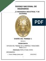Informe Final - Diseño del Trabajo 1
