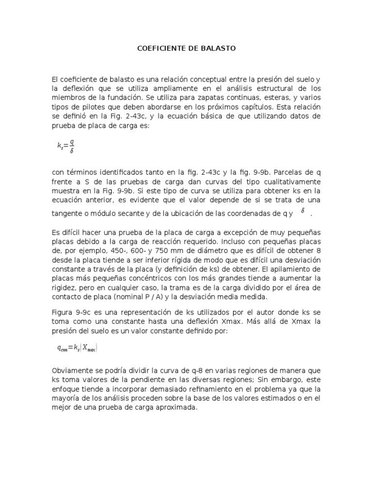 Modulo De Balasto Español